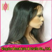 Cheap Black indian remy curly full lace wig Best Indian hair Curly body wave lace front wig