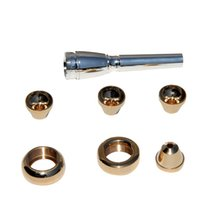 Wholesale Professional Trumpet Mouthpiece Gold Plated Trumpet Mouthpiece C2C2B3B Trumpet Part
