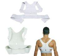 Wholesale Fully Adjustable Magnetic Therapy Posture Back Shoulder Corrector Support Brace Belt