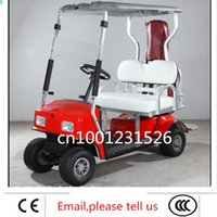 golf cart - CE Luxurious golf cart elderly walking cars electric cars awnings double type