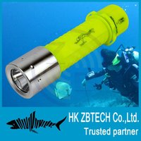 Wholesale New LM CREE XM L T6 LED Waterproof underwater scuba Diving Flashlight High quality submersible flashlight