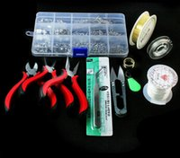 Wholesale 2015 New Hot Jewelry Tools set Equipments DIY fashion JEWELLERY MAKING KIT BEADS FINDINGS PLIERS Fit jewelry findings
