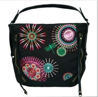 Wholesale In the new Spanish desigual retro printing bag one shoulder inclined across her handbag