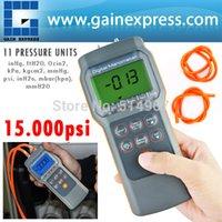 Wholesale Professional Digital Economic Manometer psi Gauge Differential Pressure meter bar mmHg inHg kPa mbar