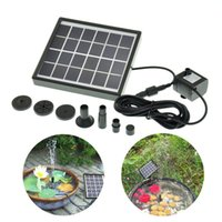 Wholesale New Solar Water Pump With Solar Panel For Home Garden Yard Cycle Pond Fountain Rockery Fountain Decoration Energy Saving
