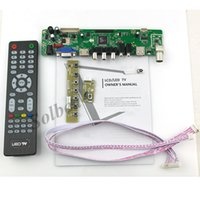 Wholesale HDMI CVBS RF USB VGA Audio Vedio TTL LVDS Controller Board Kit t vst29 Up to X1080 for TV PC TFT LCD Display Freeshipping