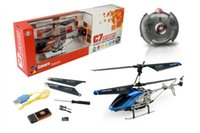 best photo cameras - New Channel RC Mini Helicopter With Metal Frame Gyro With Camera Video Photo Blue amp Orange Color Drone Ar drone Best Gift