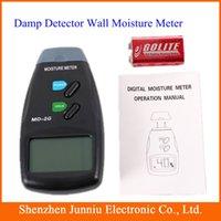 Wholesale LCD Digital Electronic Wood Woodworking Timber Firewood Veneer Pins Moisture Meter Measurer Measurement MD G