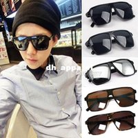 Wholesale 2015 man boy Fashion New Cool Vintage Unisex Oversized s Wayfarer Anti UV Protection Sunglasses A1