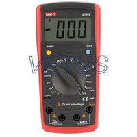 Wholesale Digital Modern Inductance meter Capacitance meter UT602 UT with Inductance mH mH mH H H H A