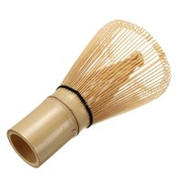 Wholesale Natural White Bamboo Chasen Matcha Whisk Prearing For Green Tea Powder