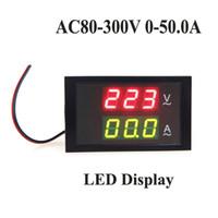 Wholesale Hot Sale LED Dual Display AC V A Digital Voltage Meter Ammeter Voltmeter with Current Transformer