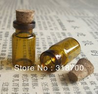 amber glass vial cork - ml amber mini glass bottle amber glass vial wishing bottle ml ml ml till ml is available