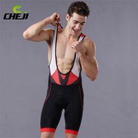 Wholesale Professional Bib Cycling Shorts for Men Breathable Cosy Summer Bicycle Shorts for Riders High Quality Hot Sale CJ
