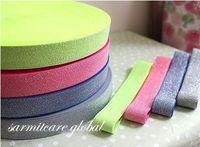 Wholesale 3071003 cm Width Yds color Bright Elastic Strap Elastic Rubber Band Belt Cummerbund Shinned Tape