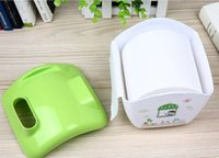 Wholesale Case Tissue Box Storage Phone Toilet Paper Holder Napkin House Cover Bathroom Accessories Green New