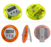 Wholesale Portable Mini LCD Novelty Digital Count Timer Magnetic Electronic Clip Alarm Home Kitchen Countdown Count down Kitchen Gadgets Gift