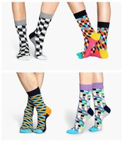 Wholesale 1lot pairs Happy socks men dress socks meias socks for men Knee High Business basketball mens socks cotton marijuan socks long