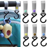 Wholesale New Plastic Baby Stroller Pushchair Car Hanger Hook Strap Multi Purpose