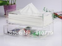 acrylic pmma sheets - THZ Acrylic Tissue Box x125x120mm Thicknes mm PMMA Boxes Can Customize Any Shape Size Color