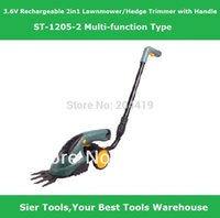 Wholesale Garden Power Tools V Rechargeable in1 Lawn Mower ST1205 electric Grass Cutter Sier electric lawnmower prunner grass mower