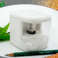 battery operated pencil sharpener - 1PCS Automatic USB Battery Operated Dual function LED Light Destop Electric Pencil Sharpener
