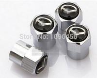 Wholesale New Chrome Tire Wheel Rim Stem Air Valve Caps Lock For Mazda mazda cx cx