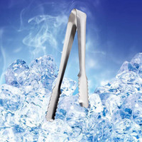 Wholesale New Lowest price inch Ice Tong For Food Salad Sweet Bread Cake Wedding Party Buffet Bar BBQ stainless steel order lt no track