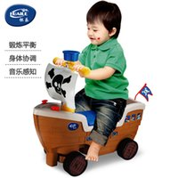 ride on toys - 2015 Creative Pirate Ship Baby Cars Rides With Wheels Outdoor Toys Fashionable Ride On Car
