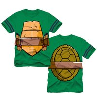 teenage fashion - Summer Teenage Mutant Ninja Turtles Boys Short Sleeve Cartoon Tshirts Children cotton tees tops kids clothes tshirt t shirts fashion