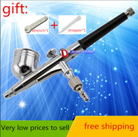 Wholesale High Quality Spray Gun Novetly Airbrush Mini Spray Gun for Nail Art body tattoos spray cake toy models automotive painting tool
