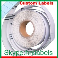 Wholesale Thermal Baggage Indentification Tags Adhesive Labels