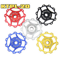 Wholesale KTPL MTB Mountain Bike Road Bicycle Rear Derailleur Aluminum Alloy T Guide Roller Idler Pulley Jockey Wheel Bicicleta Part Accessory g