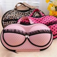 Wholesale Womens Bra Storage Case Protect Underwear Lingerie Travel Bag Box Portable