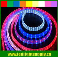 wired christmas ribbon - 50m spool V V chasing wire led christmas rope light RGBY or RGBW rainbow strip ribbon duralight led rope light led M