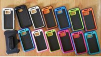 Wholesale defenders tool cases with gabinete box case For Samsung Galaxy S6 Cover Skin With Belt Clip Shockproof