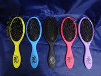 Wholesale The WET Brush Queen Styler Professional Detangling Tangle Shower Hair Brush Teezer HairBrushes Combs Colors FEDEX