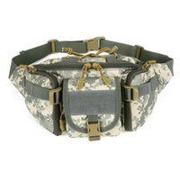 Wholesale Hot New Arrival Fashion New Green Camo Water Repellent Fanny Pack Waist Belt Bag Travel Wallet Hip Pouch