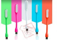 Wholesale Rubber USB LED Lamp Light Portable Flexible For Notebook Laptop Tablet PC USB Power Bank