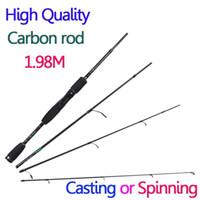 Wholesale 1 m Spinning casting carbon fiber fishing rod pole sections ilure fishing rod carbon vara de pesca de fibra de carbono
