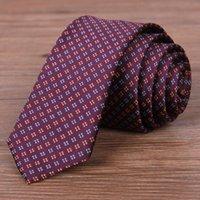 arrow delivery - Narrow Neck Ties for Men Colors Jacquard Stripes Arrow Fashion Necktie Neck Ties Wedding Accessories Regular Size Fast Delivery MT006