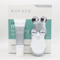 Wholesale Nuface mini Face care facial toning device beauty face massager electric roller Multi Functional Beauty Equipment freeshipping by dhl