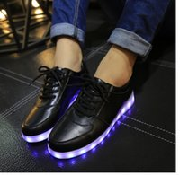 Cheap Casual Shoes Best led luminous shoes