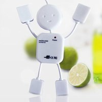 trailer hubs - USB HUB Cartoon Doll Humanoid Villain Hub Splitter Usb2 High Speed In Trailer hub Uper