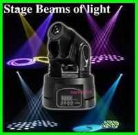 Wholesale 15W Led Mini Moving Head Spot Light RGB Mini Stage Lighting For Club KTV DJ Party DMX Controller Stage Light DHL