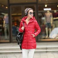 Wholesale PU long section Down Parkas Outerwear Coats Warm jacket Pure cotton duvet Down cotton