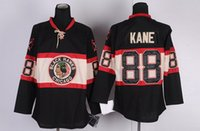 Wholesale Winter Classic Mens Hockey Jerseys Patrick Kane Black Hockey Apparel Blackhawk Team Apparel Brand Sellers All Teams Uniform