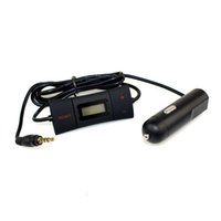 Wholesale 0 quot Screen Car mm FM Transmitter CH HiFi Automatic Search FM Transmitter For Iphone Samsung MP3 Q4060A