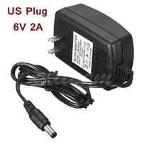 Wholesale New Arrival AC Converter Adapter for DC V A Power Supply Charger mm x mm mA EU US PLUG