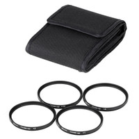 Wholesale Andoer mm Macro Close Up Filter Set with Pouch for Nikon Canon Rebel T5i T4i EOS D D D DSLRs Camera D1743